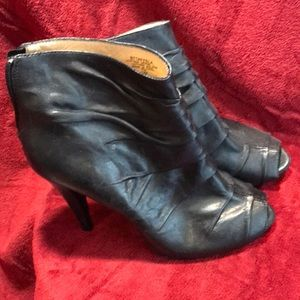Boutique 9 Black Leather Booties